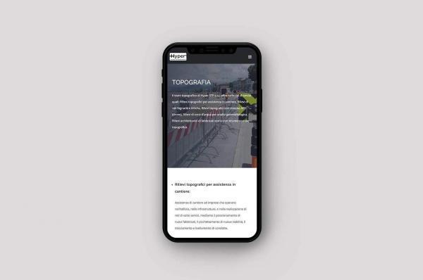 Iphone con sito responsive visualizzaro