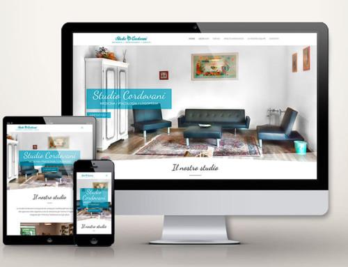SITO WEB STUDIO PSICOLOGIA – Studio Cordovani